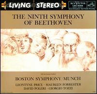 The Ninth Symphony Of Beethoven - David Poleri (tenor); Giorgio Tozzi (bass); Leontyne Price (soprano); Maureen Forrester (contralto);...