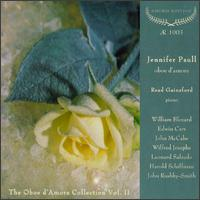 The Oboe D'Amore Collection, Vol. 2 - Jennifer Paull (oboe d'amore); Read Gainsford (piano)