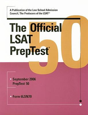 The Official LSAT Preptest: September 2006: Form 6LSN70 - Law School Admission Council (Creator)