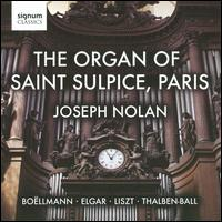 The Organ of Saint Sulpice, Paris - Joseph Nolan (organ)