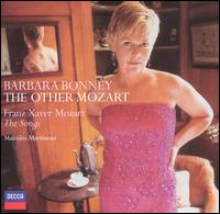 The Other Mozart: Songs by Franz Xaver Mozart - Barbara Bonney (soprano); Malcolm Martineau (piano)