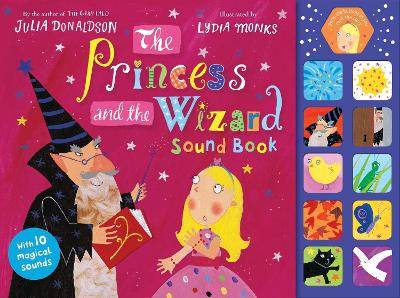 The Princess and the Wizard Sound Book - Donaldson, Julia