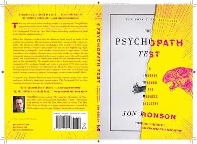 The Psychopath Test: A Journey Through the Madness Industry - Ronson, Jon