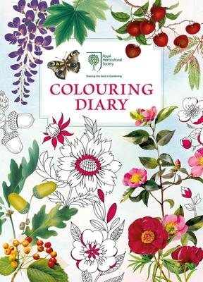 The Royal Horticultural Society Colouring Diary - Michael O'Mara Books