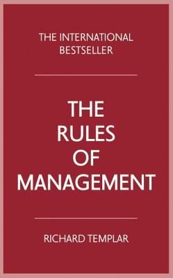 The Rules of Management - Templar, Richard