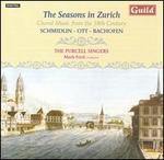 The Seasons in Zurich: Choral Music from the 18th Century - Catherine May (soprano); Elizabeth Franklin-Kitchen (soprano); Fred Jacobs (theorbo); Gareth Deats (cello);...