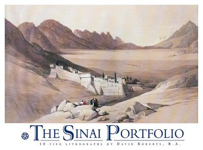 The Sinai Portfolio: Ten Fine Art Prints - Roberts, David