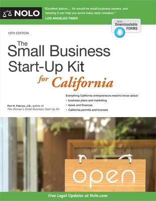 The Small Business Start-Up Kit for California - Pakroo, Peri