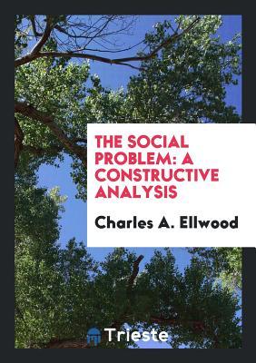 The Social Problem: A Constructive Analysis - Ellwood, Charles a