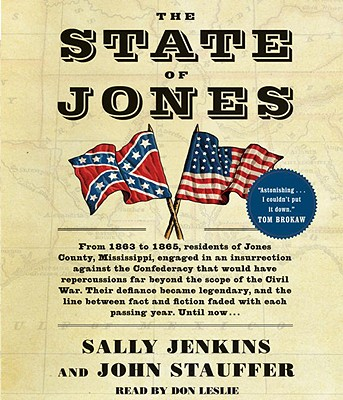 The State of Jones - Jenkins, Sally, and Stauffer, John, and Leslie, Don (Read by)