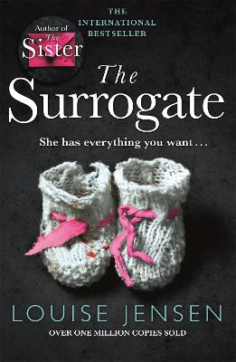 The Surrogate: A gripping psychological thriller with an incredible twist - Jensen, Louise