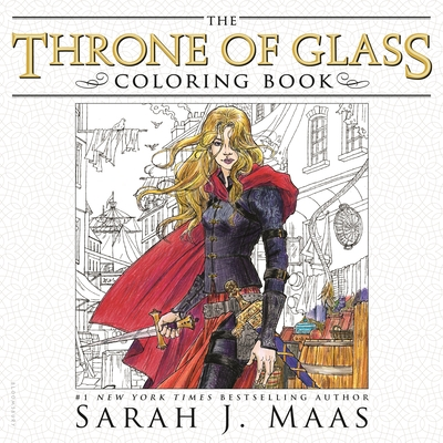 The Throne of Glass Coloring Book - Maas, Sarah J