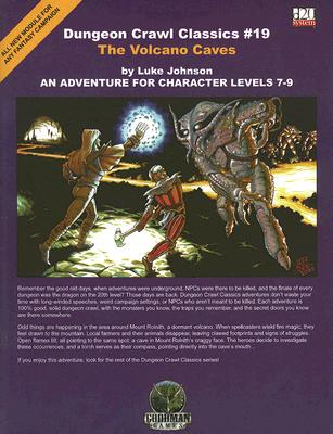 The Volcano Caves: An Adventure for Character Levels 7-9 - Johnson, Luke