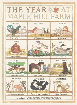 The Year at Maple Hill Farm - Provensen, Alice