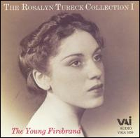 The Young Firebrand - Rosalyn Tureck (piano)