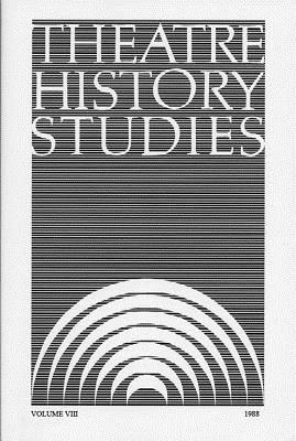 Theatre History Studies 1988, Vol. 8 - Engle, Ron (Editor)
