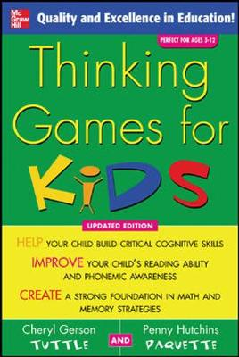 Thinking Games for Kids - Tuttle, Cheryl Gerson, Ed