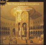 Thomas Arne: Six Favourite Concertos