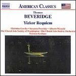 Thomas Beveridge: Yizkor Requiem