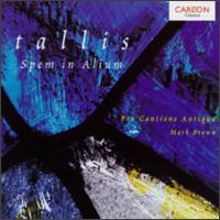 Thomas Tallis: Spem in alium - Adrian Peacock (bass); Andrew King (tenor); Brian Etheridge (bass); Charles Brett (tenor); David Beavan (bass);...