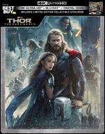 Thor: The Dark World [SteelBook] [Digital Copy] [4K Ultra HD Blu-ray/Blu-ray] [Only @ Best Buy]