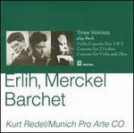 Three Violinists play Bach