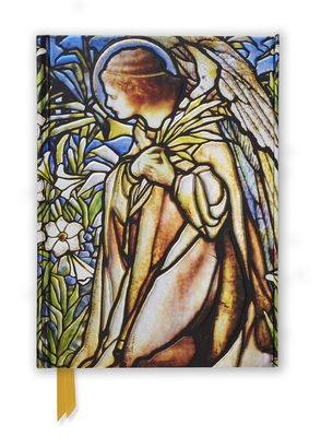 Tiffany Angel Stained Glass Window (Foiled Journal) - Tiffany