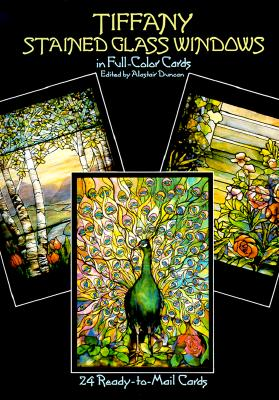 Tiffany Stained Glass Windows: 24 Cards - Duncan, Alastair (Editor)