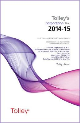 Tolley's Corporation Tax 2014-15 Main Annual - Harper, Lisa-Jane, and Walton, Kevin