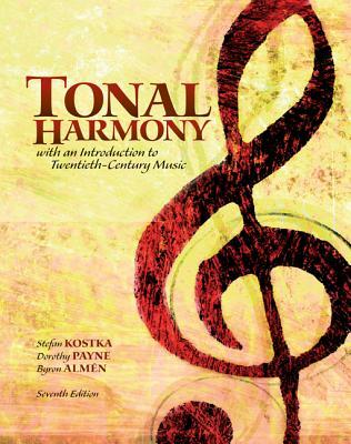 Tonal Harmony with Workbook - Kostka, Stefan
