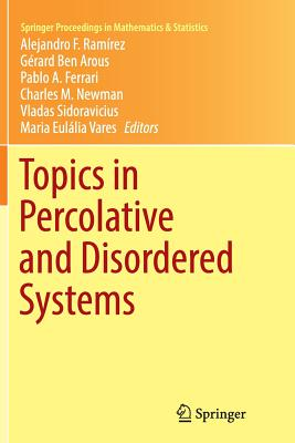 Topics in Percolative and Disordered Systems - Ramirez, Alejandro F (Editor), and Ben Arous, Gerard (Editor), and Ferrari, Pablo a (Editor)