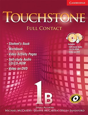 Touchstone 1b Full Contact (with Ntsc DVD) - McCarthy, Michael, and McCarten, Jeanne, and Sandiford, Helen