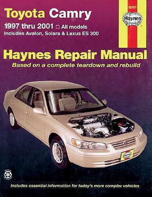 Toyota Camry and Lexus Es 300 1997-2001 - Haynes, John