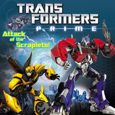 Transformers Prime: Attack of the Scraplets! - Paz, Veronica