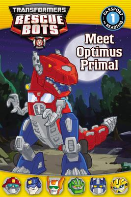 Transformers: Rescue Bots: Meet Optimus Primal - Fox, Jennifer
