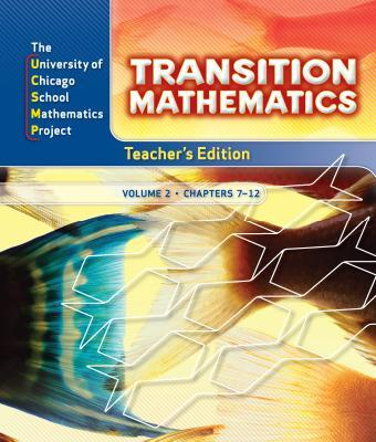 Transition Mathematics: Teacher's Edition Volume 2 - Ucsmp