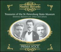 Treasures of the St. Petersburg State Museum - Adamo Didur (vocals); Alexandr Alexandrovich (vocals); Antonio Magini-Coletti (vocals); Boris Slovtsov (vocals);...