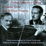 Tribute to Lionel Tertis & William Primrose