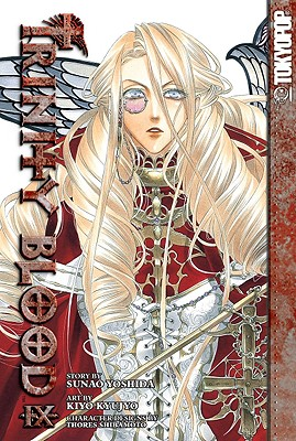 Trinity Blood, Volume 9 - Yoshida, Sunao, and Shibamoto, Thores (Designer)