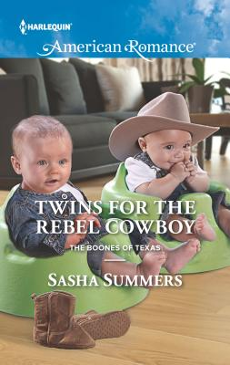 Twins for the Rebel Cowboy - Summers, Sasha