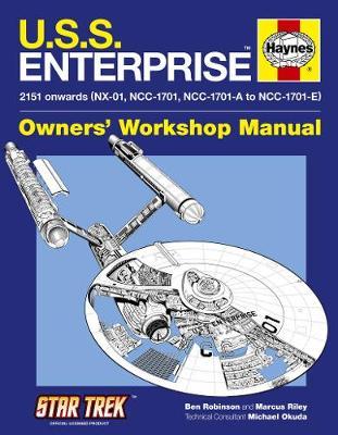 U.S.S. Enterprise Manual - Robinson, Ben, and Riley, Marcus