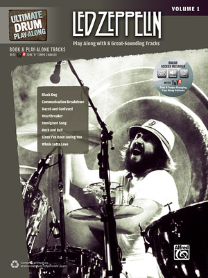 Ultimate Drum Play-Along Led Zeppelin, Vol 1: Play Along with 8 Great-Sounding Tracks (Authentic Drum), Book & DVD-ROM - Led Zeppelin