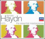 Ultimate Haydn - Aeolian Quartet; Alan Stringer (trumpet); Anne Howells (mezzo-soprano); Anthony Rolfe Johnson (tenor); Arleen Augér (soprano); Barbara Bonney (soprano); Barry Tuckwell (horn); Mstislav Rostropovich (cello); Stephen Roberts (baritone)