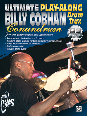 Ultimate Play-Along Drum Trax Billy Cobham Conundrum: Jam with Six Revolutionary Billy Cobham Charts, Book & 2 CDs - Cobham, Billy