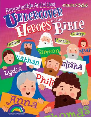 Undercover Heroes of the Bible Grades 5-6 - McKinney, Donna, and Herrmann, Angela Bowen