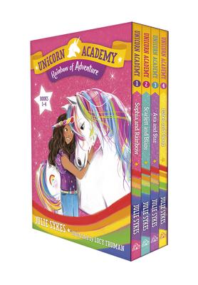 Unicorn Academy: Rainbow of Adventure Boxed Set (Books 1-4) - Sykes, Julie