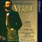 Unpublished Verdi