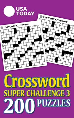 USA Today Crossword Super Challenge 3 - Usa Today