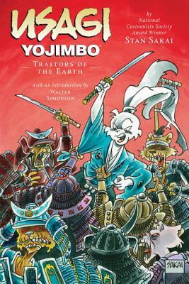 Usagi Yojimbo Volume 26: Traitors of the Earth -
