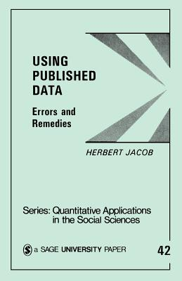 Using Published Data: Errors and Remedies - Jacob, Herbert